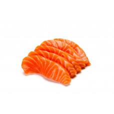 """Сёмга ломтики х/к """"ПРЕМИУМ"""" из охлажденной рыбы (сухой посол) 300гр."""