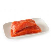 """Сёмга филе х/к """"ПРЕМИУМ"""" из охлажденной рыбы 300гр."""