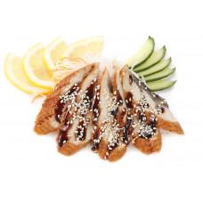 Угорь жаренный филе в соусе кабаяки