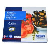 Мидии голубые в томатно чесночном соусе в/м